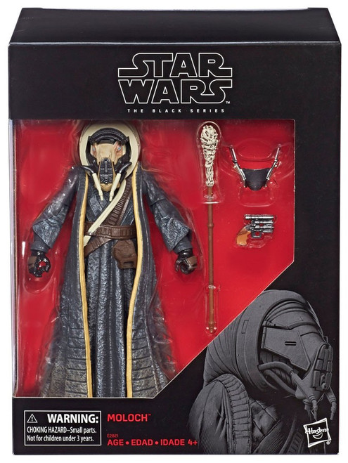 Solo A Star Wars Story Black Series Moloch Exclusive Action Figure