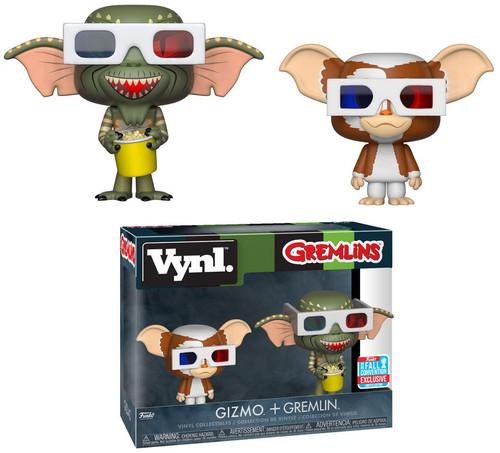 Funko Gremlins Vynl. Gizmo & Gremlin Exclusive Vinyl Figure 2-Pack [3D Glasses]