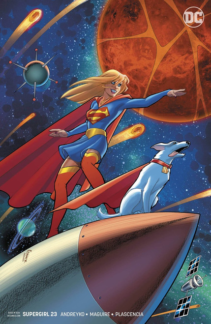 DC Supergirl #23 Comic Book [Conner Variant Cover]