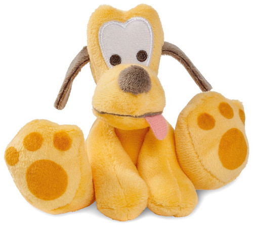 Disney Tiny Big Feet Pluto Exclusive 4-Inch Micro Plush