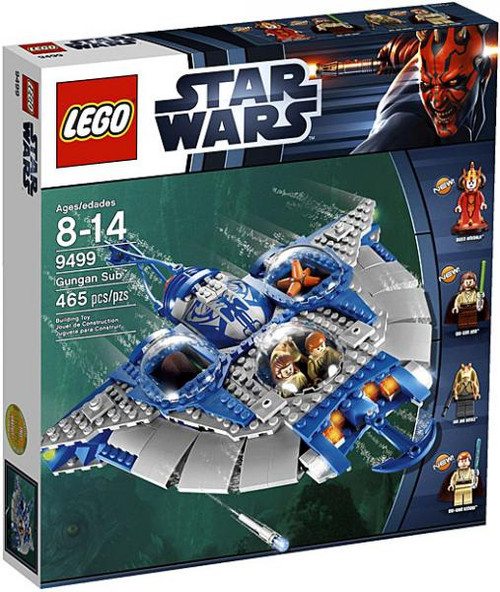 LEGO Star Wars Phantom Menace Gungan Sub Set #9499
