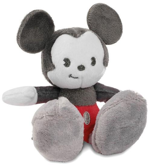 Disney Tiny Big Feet Mickey Mouse Exclusive 4-Inch Micro Plush [Gray Version]