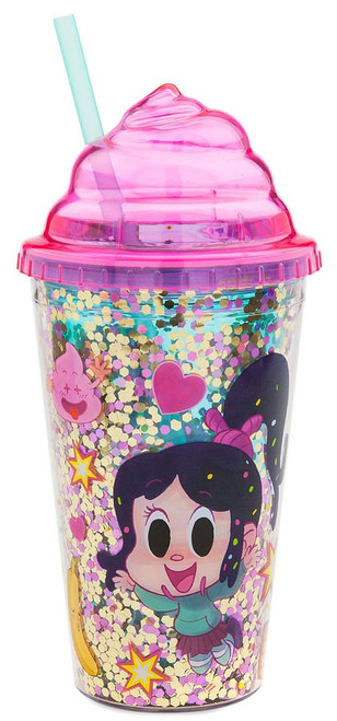 Disney Wreck-It Ralph 2: Ralph Breaks the Internet Vanellope Exclusive Tumbler with Straw