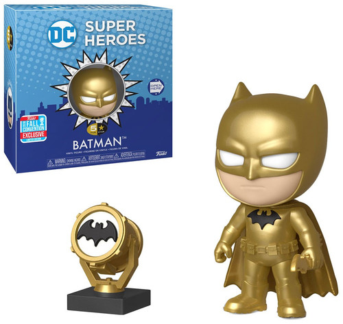 DC Funko 5 Star Batman Exclusive Vinyl Figure [Gold Midas]