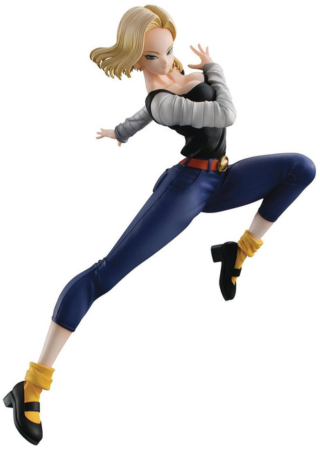 Dragon Ball Z Dragon Ball Gals Android 18 8-Inch PVC Figure Statue