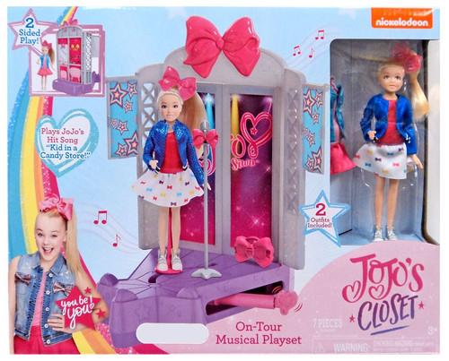 Nickelodeon JoJo Siwa JoJo's Closet On-Tour Musical Exclusive Playset