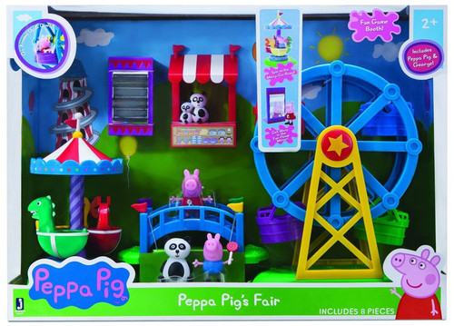 Peppa Pig's Fair Exclusive Playset