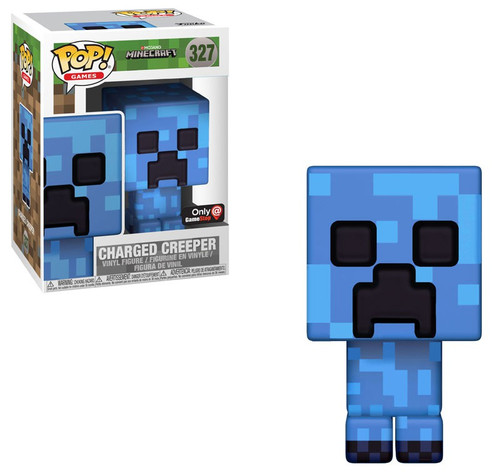 Funko Minecraft POP! Video Games Charged Creeper Exclusive Vinyl Figure #327