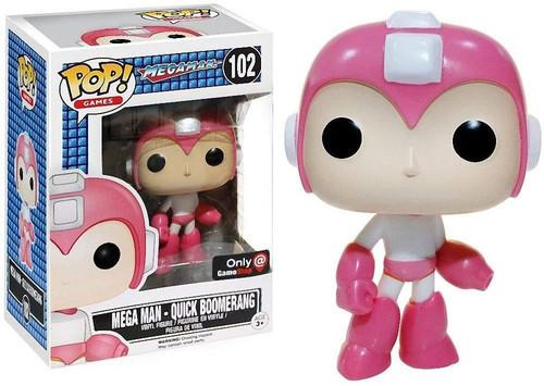 Funko POP! Games Mega Man Exclusive Vinyl Figure #102 [Quick Boomerang]