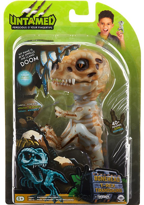 Fingerlings Untamed Dinosaur Doom the T-Rex Figure [Bonehead]
