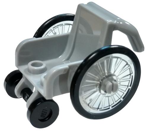 LEGO Light Gray Wheelchair Loose Accessory [Loose]