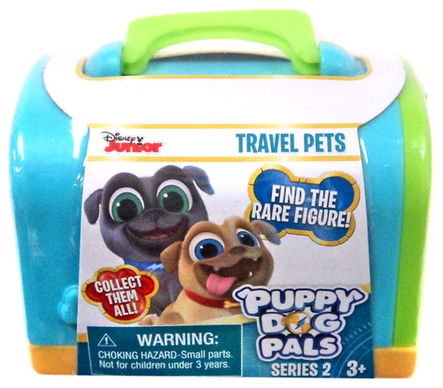 Disney Junior Puppy Dog Pals Series 2 Travel Pets Mystery Pack [Blue]