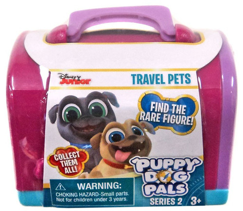 Disney Junior Puppy Dog Pals Series 2 Travel Pets Mystery Pack [Purple]