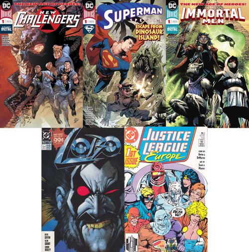DC Starter Lot Lot of 5 Comic Books