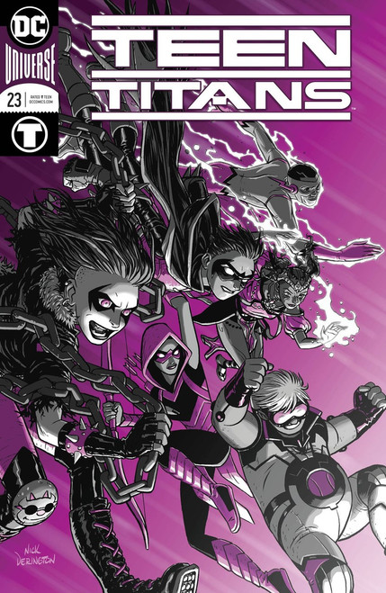 DC Teen Titans #23 Comic Book
