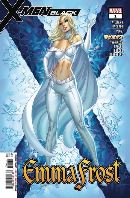 Marvel Comics X-Men Black #1 Emma Frost Comic Book