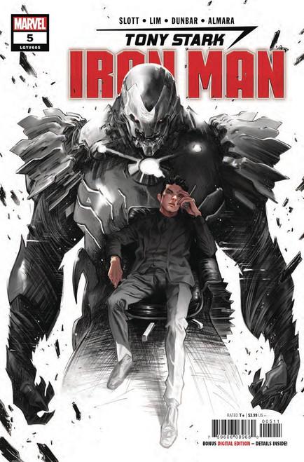 Marvel Comics Tony Stark: Iron Man #5 Comic Book