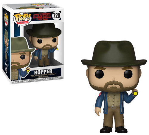 Funko Stranger Things POP! TV Hopper Vinyl Figure #720 [With Flashlight]