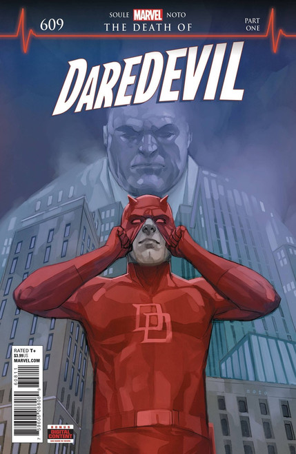 Marvel Comics Daredevil #609 Comic Book [First appearance of Vigil (cameo)]