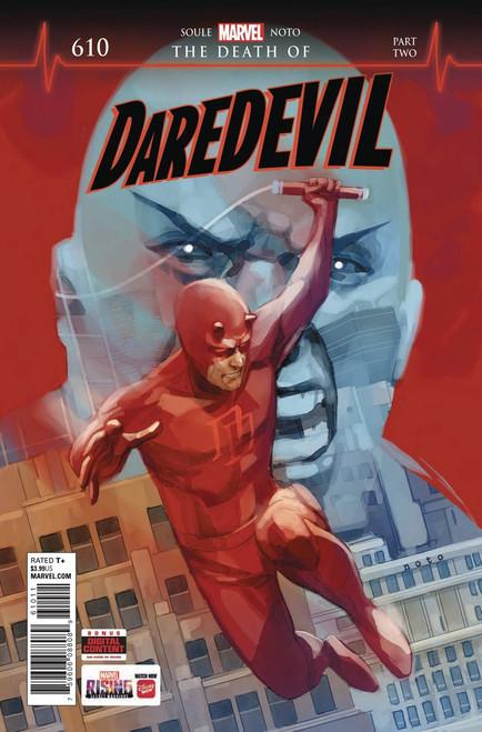 Marvel Comics Daredevil #610 Comic Book