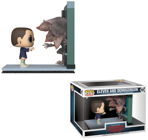 Funko Stranger Things Eleven & Demogorgon Vinyl Figure 2-Pack #727 [Movie Moments]