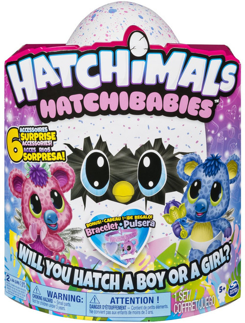 Hatchimals Hatchibabies Koalabee Exclusive Magical Creature [RANDOM Color]
