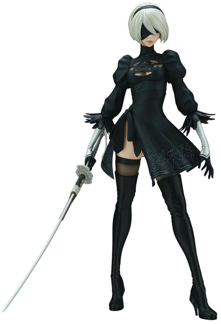 NieR: Automata 2B 11-Inch Collectible PVC Figure [Regular 2018 Version]