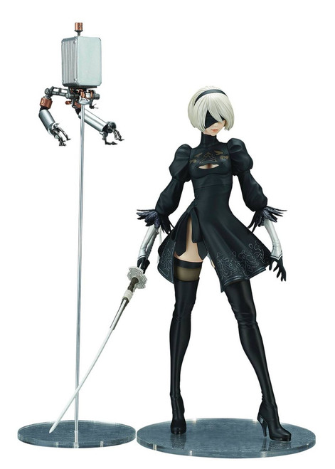 NieR: Automata 2B 11-Inch Collectible PVC Figure [Deluxe 2018 Version]