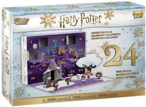 Funko Pocket POP! Harry Potter Advent Calendar [24 Mini Vinyl Figures, 2018]
