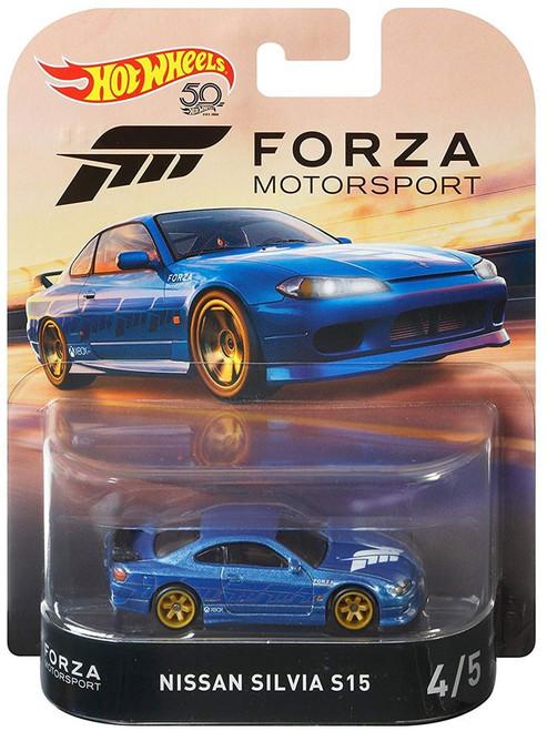 Hot Wheels Forza Motorsport Nissan Silvia S15 Die-Cast Car #4/5