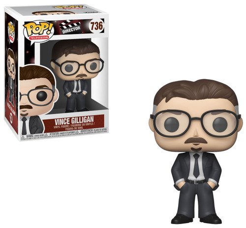 Funko Director POP! TV Vince Gilligan Vinyl Figure #736