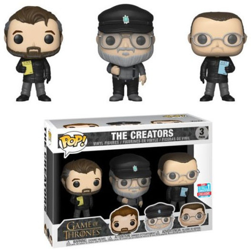 Funko Game of Thrones POP! The Creators Exclusive Vinyl Figure 3-Pack