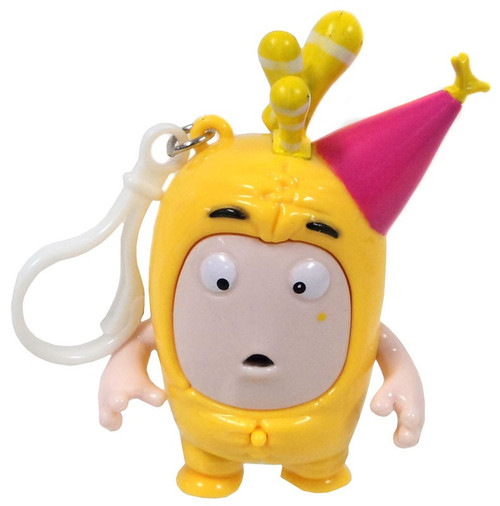 Oddbods Bubbles 4-Inch Backpack Clip [with Sound]