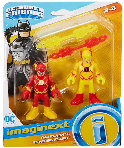Fisher Price DC Super Friends Imaginext The Flash & Reverse Flash Figure Set