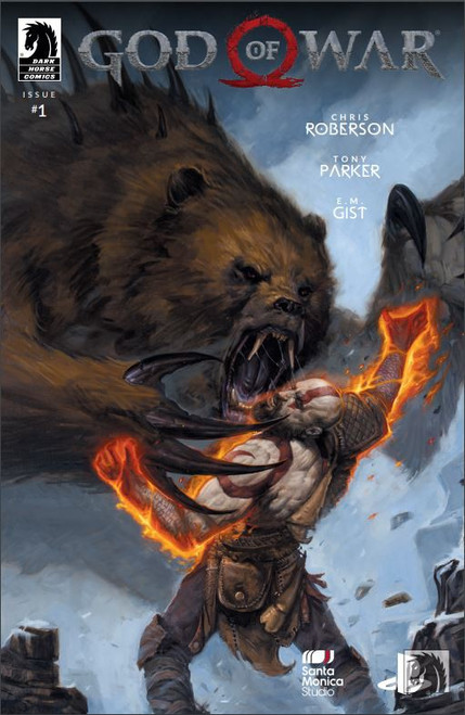 Dark Horse God of War #1 Comic Book
