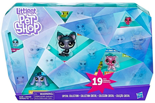 Littlest Pet Shop Crystal Collection Exclusive Mini Figure 19-Pack