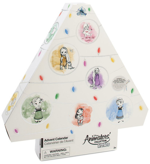 Disney Littles 2018 Animators' Collection Advent Calendar Exclusive Set