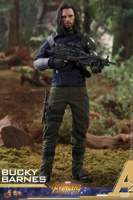Marvel Avengers Infinity War Movie Masterpiece Bucky Barnes Diecast Collectible Figure MMS509 [Infinity War]