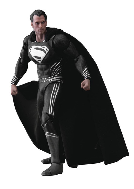 DC Batman v Superman Superman Action Figure DAH-013SP [Black Costume]