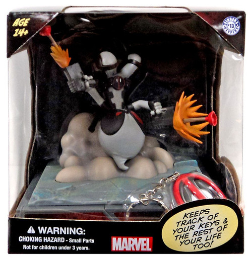 Marvel Finders Keypers Deadpool 5.5-Inch Statue [X-Force]