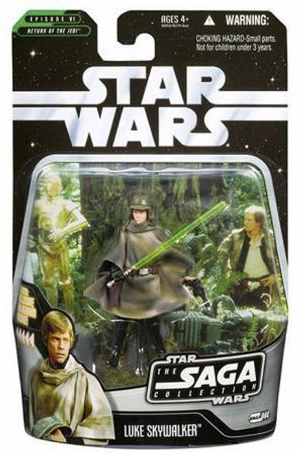 Star Wars Return of the Jedi 2006 Saga Collection Luke Skywalker Action Figure #44 [Endor]