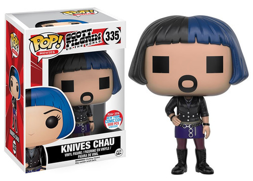 Funko Scott Pilgrim vs The World POP! Movies Knives Chau Exclusive Vinyl Figure #335 [Digital]