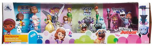 Disney Junior Doc McStuffins, Puppy Dog Pals, Vampirina & Sofia Exclusive 21-Piece PVC Mega Figurine Playset