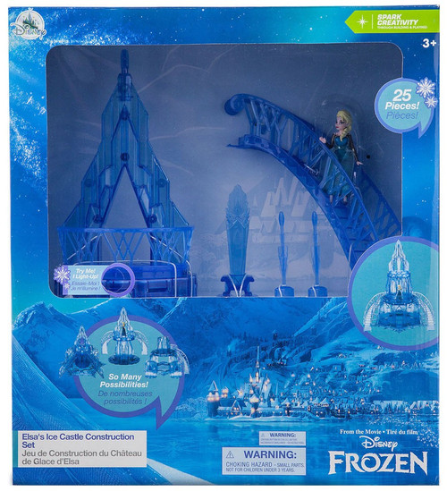 Disney Frozen Elsa's Ice Castle Construction Exclusive Playset