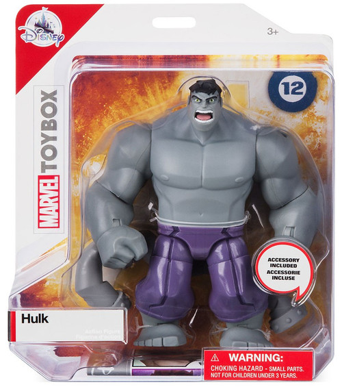 Disney Marvel Toybox Hulk Exclusive Action Figure [Gray]