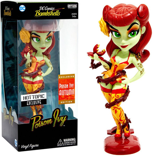 Funko DC Bombshells Rock Candy Poison Ivy Exclusive Vinyl Figure [Autumn]
