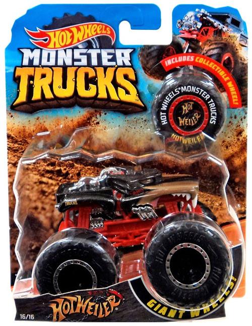 Hot Wheels Monster Trucks Hot Weiler Die-Cast Car