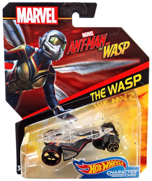 Hot Wheels Marvel Character Cars The Wasp Die-Cast Car [Ant-Man & The Wasp]