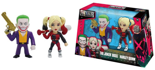 DC Suicide Squad Metals The Joker Boss & Harley Quinn Action Figure