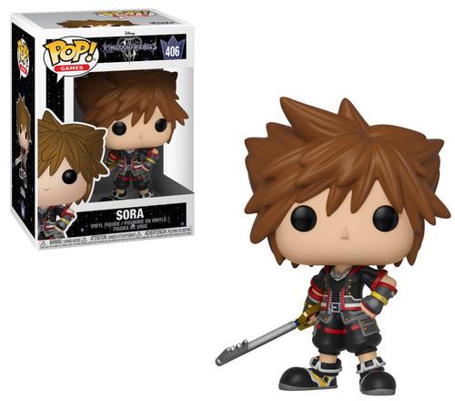 Funko Disney Kingdom Hearts III POP! Games Sora Vinyl Figure #406